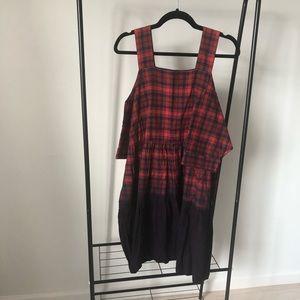 Oversize ASOS Plaid Dress 100% cotton